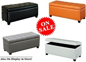 Abbey Storage Ottoman Collection