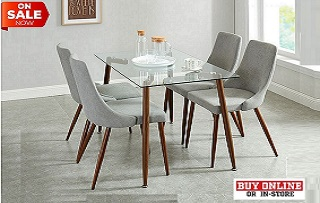 Abbot Rect. Glass Dining Collection