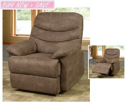 Abigail Rocker Recliner Chair Collection