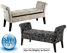 Alicia II Storage Bench Collection
