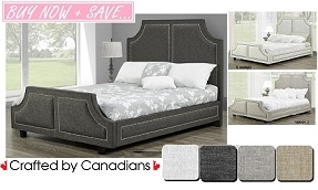 Allison Upholstered Bed Collection
