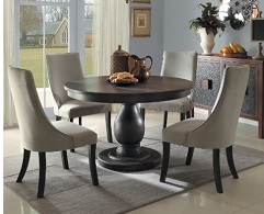 Amara 5-Piece Round Dining Set