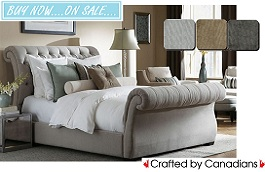 Anastasia Upholstered Bed Collection