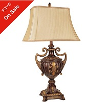 "Antique French 30.5"" Table Lamp Collection"