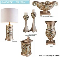 Aurora 2, 3 or 4-Pc Decor Collection