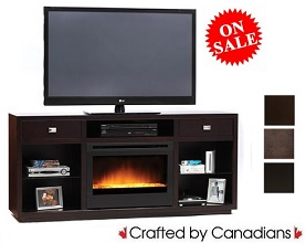 Austin TV Stand w/ Fireplace Collection