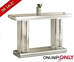Avalon Mirrored Console & Mirror Collection