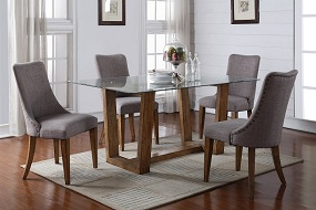 Avenue 5 or 7-Piece Glass Dining Collection