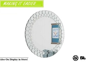 "Bailey 32"" Round Wall Mirror Collection"