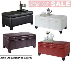 Bella Storage Ottoman Collection