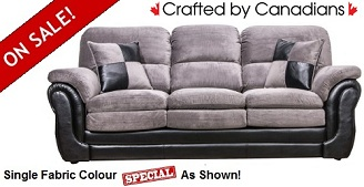 Berkley Sofa Collection 2-Tone Fabric Special