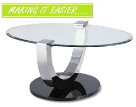 Brisk 2,3 or 4 Piece Table Collection