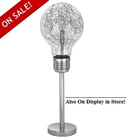 "Bulb 26""H Table Lamp"
