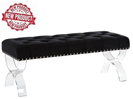 Caden Double Upholstered Bench