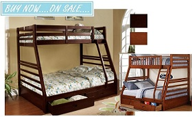 Chester Twin over Double Bunkbed Collection