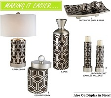 Chestnut 2, 3 or 4-Pc Decor Collection