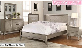 Christina 5 or 6-Piece Bedroom Collection