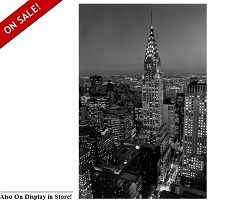 "Chrysler Building 42"" x 68"" Wall Art"