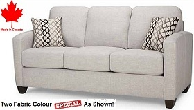 Derry Sofa Collection - 2 Fabric Special