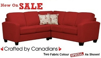 Disney 2-Pc Fabric Sectional Collection