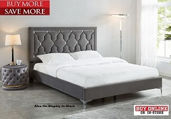 Dolce Grey Bed Collection