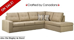 Drake II Sectional 2-Fabric Special