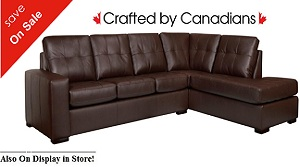 Drake II Sectional Air Leather Special
