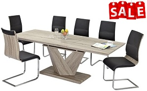 Eclipse 5 or 7-Piece Dining Collection