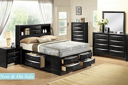 Felicia 5 or 6-Piece Bedroom Collection