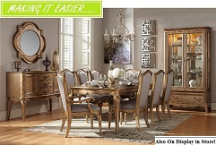 Floresville 5 or 7-Piece Dining Collection