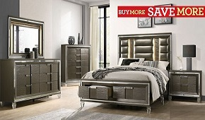 Glamour Edge Bedroom Collection