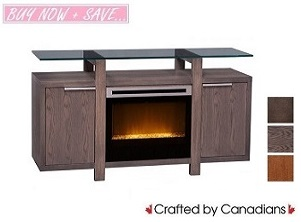 Howie TV Stand w/ Fireplace Collection