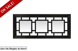 "Impressions 27"" x 60"" Triple Wall Mirror"