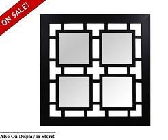 "Impressions 41"" Square 4 x 4 Wall Mirror"