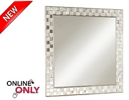"Jani 39"" Square Wall Mirror Collection"