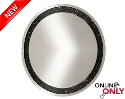 "Latimer 39"" Round Mirror Collection"