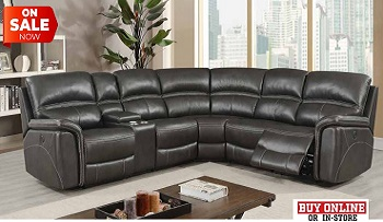 Lockport Power Recliner Sectional