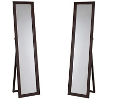 Lorenzo Wooden Floor Mirror Collection