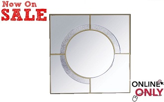 "Marybella 39"" Square Mirror Collection"