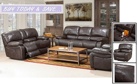 Mica Air Leather Recliner Collection