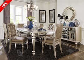 Opal 5 or 7-Piece Dining Collection