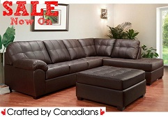 Sedona 2-Pc Sectional Air Leather Special