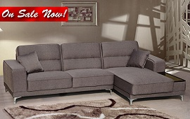 Zuri Sofa w/Chaise Sectional Collection
