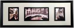 "Bridges 19"" x 50"" 3 in 1 Wall Art"
