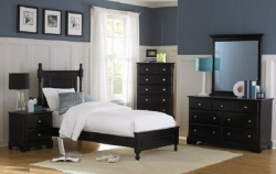 Britannia (Black) 5-Piece Bedroom Collection