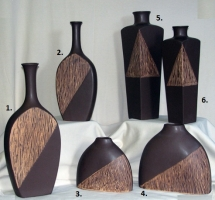 Brown 2, 3, or 4-Piece Decor Collection