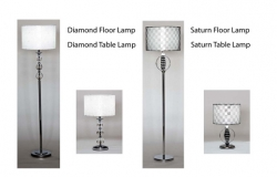 Diamond and Saturn Lighting Collection