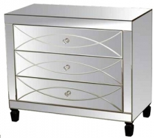 Gina Mirrored Cabinet Collection